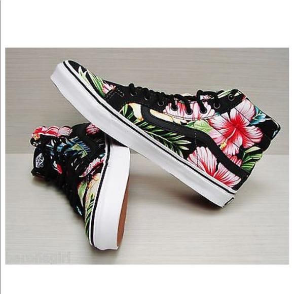 Vans Shoes | Vans Hawaiian Floral